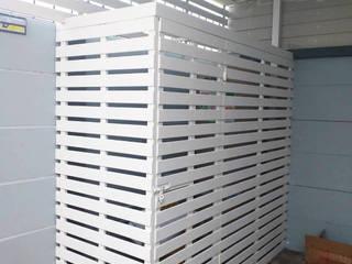 งานระแนงไม้ โดย บริษัท บีบี เฮ้าส์ คอนสตรัคชั่น จำกัด