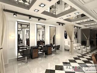 Kuaför Salonu Melis Ergin İç Mimarlık Modern Oturma Odası