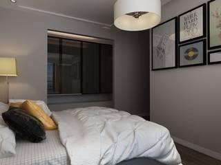 Yatak Odası Renderı Melis Ergin İç Mimarlık Küçük Yatak Odası