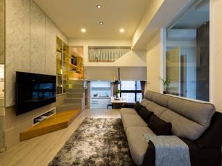 15坪現代日式小宅 蘊藏精巧細節 根據 法柏室內裝修設計 日式風、東方風