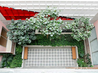 Paisajismo Edificio Jardines de estilo tropical de Arquitectura Viva - Alexandra Patow Tropical