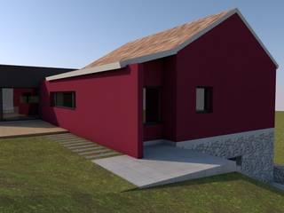 Reabilitação/Ampliação de Moradia por Miguel Pedreiro Arquitetura Minimalista