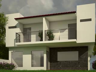 Residencia Cenote Casas modernas de Lynder Constructora e Inmobiliaria Moderno