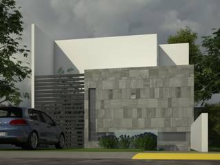 Residencia L-41 Casas minimalistas de Lynder Constructora e Inmobiliaria Minimalista