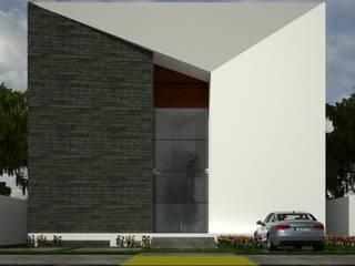 Residencia Balcones de Vista Real Casas modernas de Lynder Constructora e Inmobiliaria Moderno