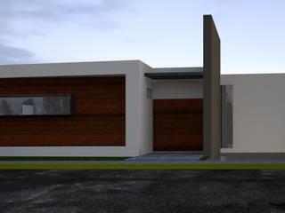 Residencia Vista Real II Casas modernas de Lynder Constructora e Inmobiliaria Moderno