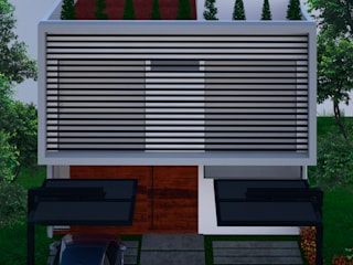 Residencia Preserve Casas modernas de Lynder Constructora e Inmobiliaria Moderno