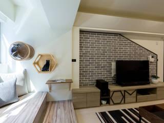 毛小孩專區 法柏室內裝修設計 Living room