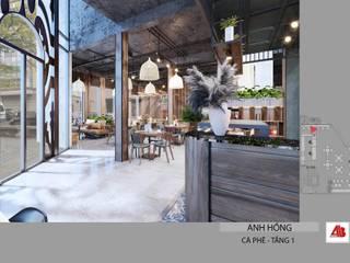 Thiết kế nội thất quán cafe phong cách hiện đại tại Bắc Ninh Thiết Kế Nội Thất - ARTBOX