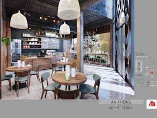 Thiết kế nội thất quán cafe phong cách hiện đại tại Bắc Ninh bởi Thiết Kế Nội Thất - ARTBOX