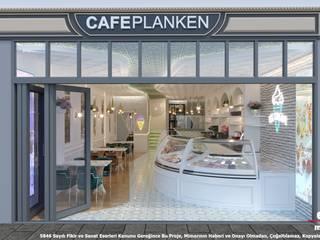 Cafe Planken Konsept Tasarımı Etit Mimarlık Tasarım & Uygulama Modern
