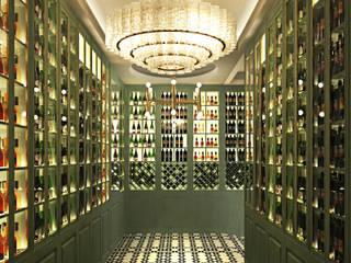 LUXCAMBRA SL Ruang Penyimpanan Wine/Anggur Modern