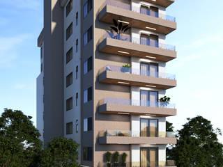 Edifício Residencial em João Monlevade Casas modernas por Tayrine Barcelos Arquitetura e Decoração Moderno