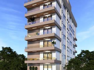 Edifício Residencial em João Monlevade por Tayrine Barcelos Arquitetura e Decoração Moderno