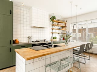 ÈMCÉ interior architecture Kitchen units Wood Green