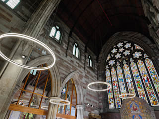 Hacel Lighting @ St. Mary's church, Lichfield - Photography Matthew Ling Photography Classic event venues