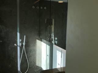 Plurirochas Lda. Eclectic style bathroom Stone Grey