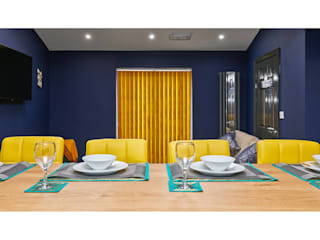 Private kitchen photography for letting agent Matthew Ling Photography Modern dining room
