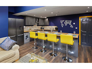Private kitchen photography for letting agent Matthew Ling Photography Modern kitchen
