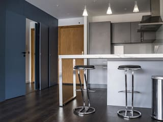 Rénovation Vincennes 52 m2 Rinnova Cuisine moderne