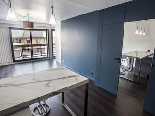 Rénovation Vincennes 52 m2 Rinnova Salon moderne