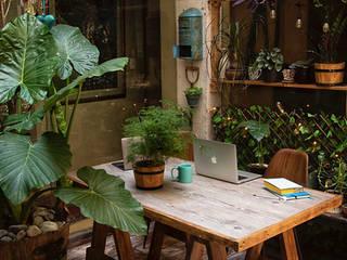 Terraza Creativa de fine: entorno en equilibrio