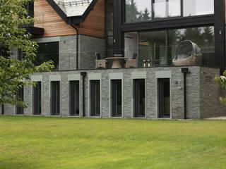 Scandinavian style study/office by Easst architects Scandinavian