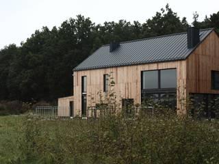 Scandinavian style houses by Easst architects Scandinavian