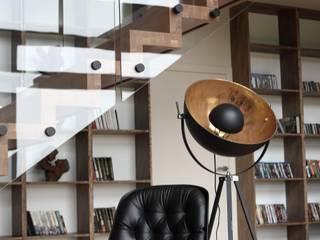 Scandinavian style living room by Easst architects Scandinavian