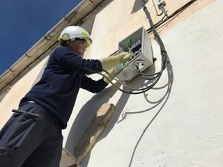 Renovación de instalaciones de enlace de Electricitat Caricano