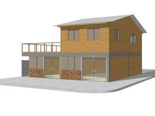 Modificación de Proyecto. Casas de estilo clásico de Campanil Arquitectos SpA Clásico