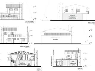 Modificación de Proyecto. de Campanil Arquitectos SpA Clásico