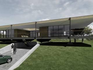 Diseño de Viviendas de Campanil Arquitectos SpA