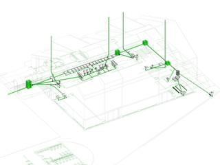 Modelamiento y Coordinación BIM de Campanil Arquitectos SpA Clásico