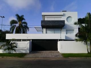 Vivienda unifamiliar desarrolla en 3 plantas.- Casas modernas: Ideas, imágenes y decoración de Benz-Pelletán Arquitectos Moderno