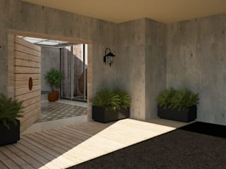 CONCEPTO JORU Garage/shed Grey