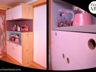Welcome 08 - TECEART DESIGN TECEART Quarto de criançasArmários e cômodas