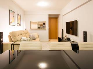 Natália Parreira Design de Interiores Soggiorno moderno