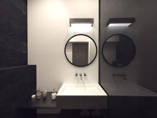 Minimalist style bathroom by STUDIO 98 Marta Bredow Minimalist