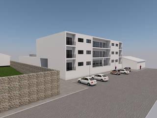 Edificio Rua de Recarei - 2018 por Carlos Amorim Faria, Arquitecto Minimalista