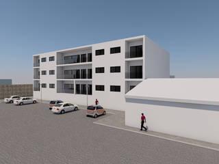 Edificio Rua de Recarei - 2018 Casas minimalistas por Carlos Amorim Faria, Arquitecto Minimalista