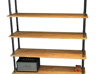 Etagère bibliothèque sur mesure par La Fabrik de Fred Industriel