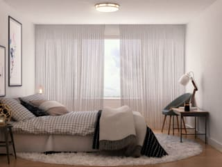Modern Bedroom by DUO Interactive Modern