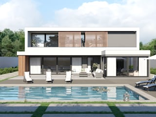 Modern Houses by DUO Interactive Modern