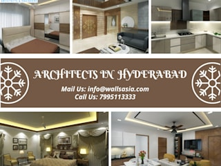 Walls Asia | Architects In Hyderabad Classic style houses by Walls Asia Architects and Engineers Classic