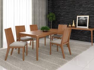 Sala de Jantar / Dinning Room por Móveis Seiva Ltda Moderno