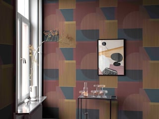 Tapeten & Uhren Walls & flooringWallpaper