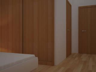 Quarto Closets modernos por LMCinteriores Moderno