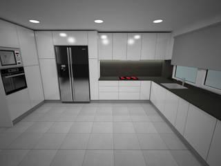 Cozinha Cozinhas modernas por LMCinteriores Moderno