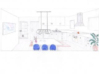 Moodboard / Painel de Ideias de Decoração - Cozinha por DA Tailors - Interiores e Decoração Moderno